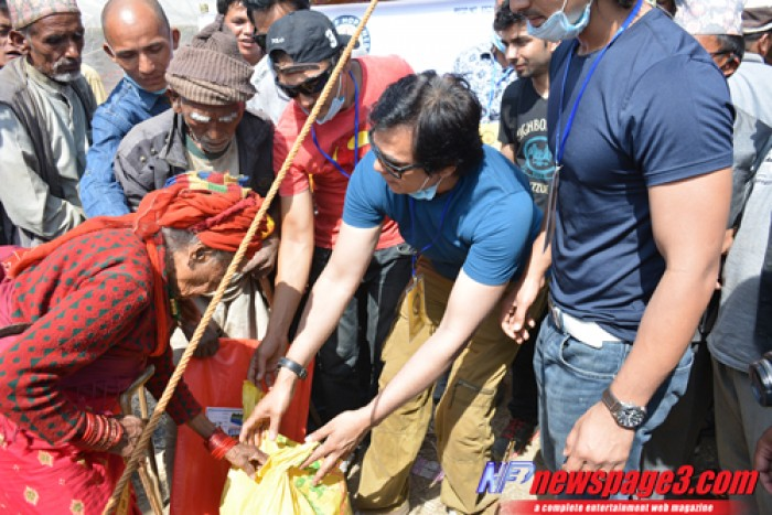 """Flame of Hope"": Kavre District Earthquake Relief Effort 6th May 2015"