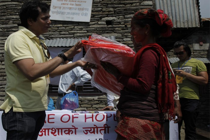 """Flame of Hope Nepal"" Has Reached Five Affected Regions of Nepal 18th May 2015"